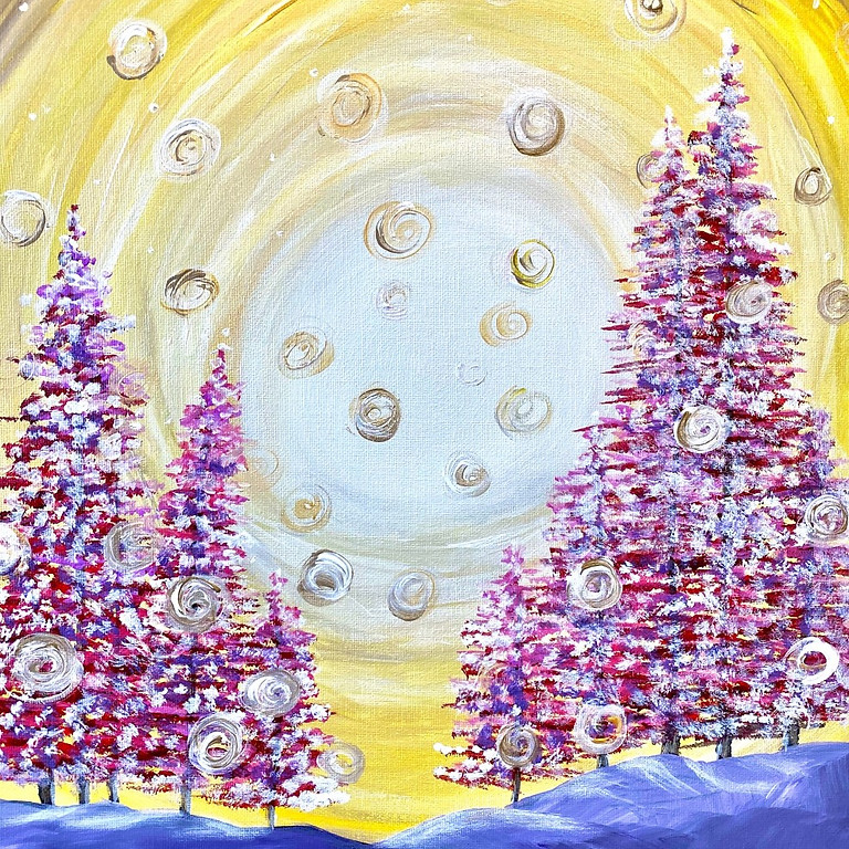 Recording of the Whimsical Winter Paint Night