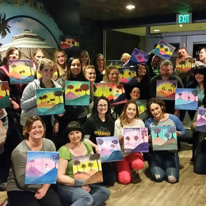 Paint Night at No Worries Bar & Grill