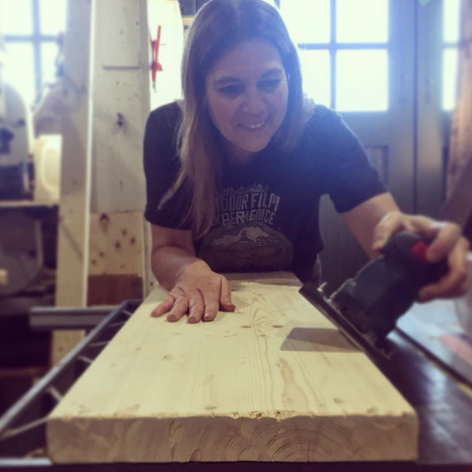 Sanding with a Smile