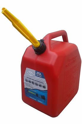 Bidon Combustible Nafta 25 Litros Nautico
