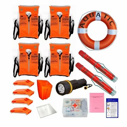 Kit Reglamentario De Seguridad Embarcaciones N27