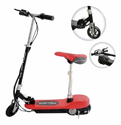 Monopatin Eléctrico Scooter Con Asiento Plegable Kids Chicos