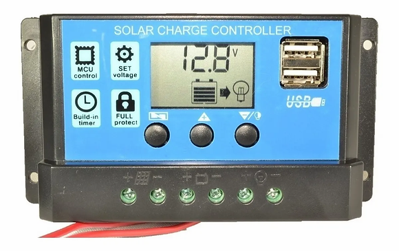 Regulador Panel Solar 10a Ltc Electronics C/disp+usb