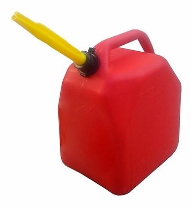 Bidón Para Combustible - Nafta 5 Litros Con Pico