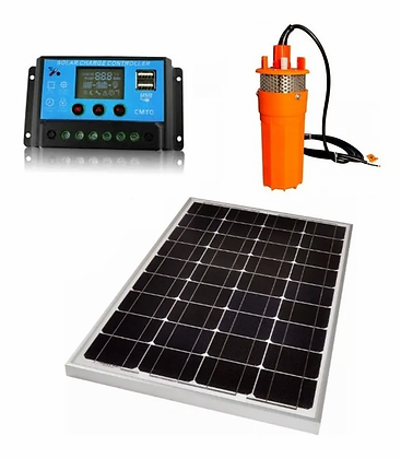 Kit Bomba Agua Solar 12lpm 24v + Regulador 20 + Panel 280 W