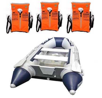 Bote Gomon Piso Aluminio Desarmable