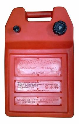 Tanque De Combustible 36 Litros Rotomoldeado + Conector