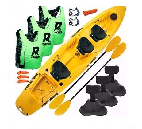 Kayak Rocker Warrior Combo Pescador