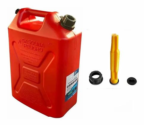 Bidon Combustible Tipo Canadience 4x4jeep 20 Litros Rojo