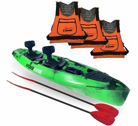 Kayak Rocker Mirage Fishing Para Pescadores Nuevo