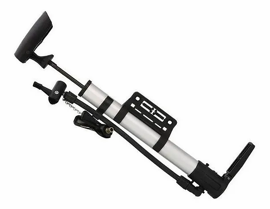 Inflador De Bicicleta De Aluminio C/pico