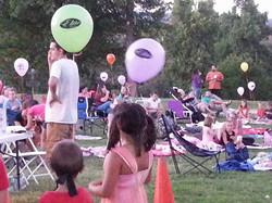Auburn Movie Night in the park