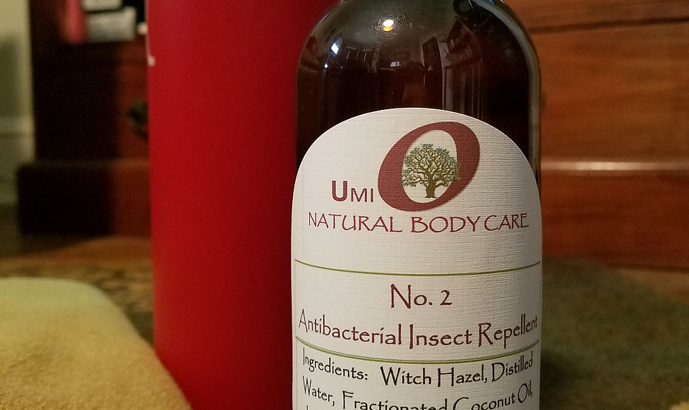 Antibacterial Insect Repellent