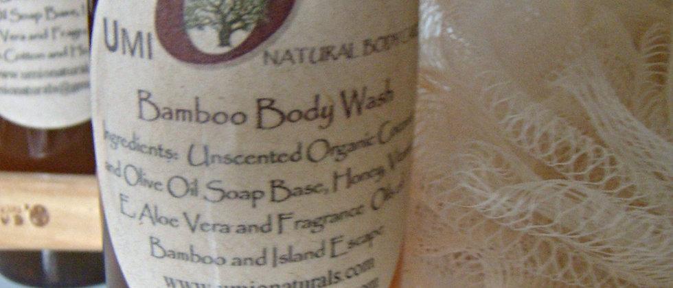 Bamboo Organic Body Wash