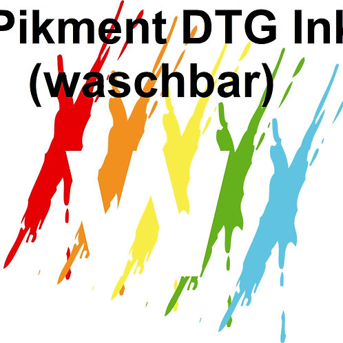 W - UV Pikment DTG Tshirt Drucker Farbe Ink