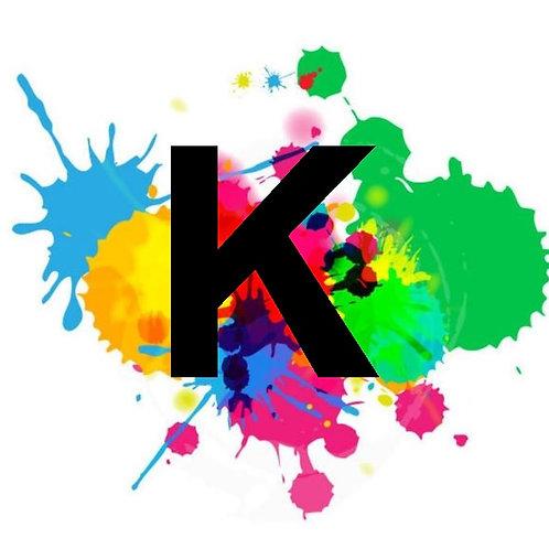 K - Eco Solvent Drucker Farbe
