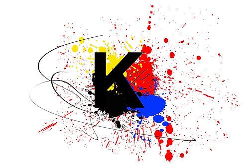 K - UV LED Drucker Farbe Ink (Soft Typ)