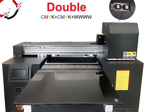 A2 Max Pro Double Head 2x CMYK + W Digital UV LED Drucker  45cmx65cm