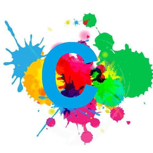 C - Eco Solvent Drucker Farbe