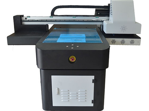 Flachbett UV Drucker 6090 170mm CMYK LC LM + White + Lack