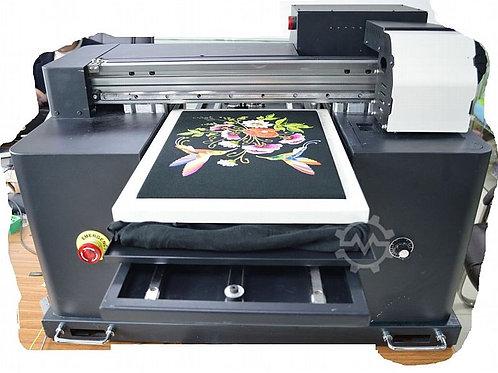 UV Drucker A3 DTG Tshirt UV4060T CMYK +W