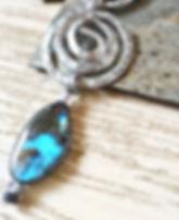 labradorite pendant