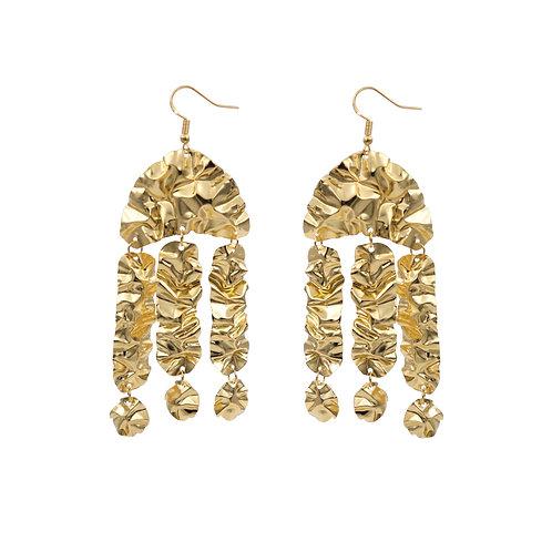 'DIVA' FOLD earrings NO.6