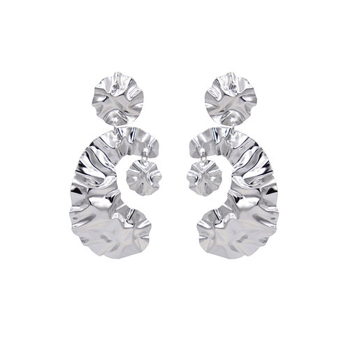 'DIVA' FOLD earrings NO.4