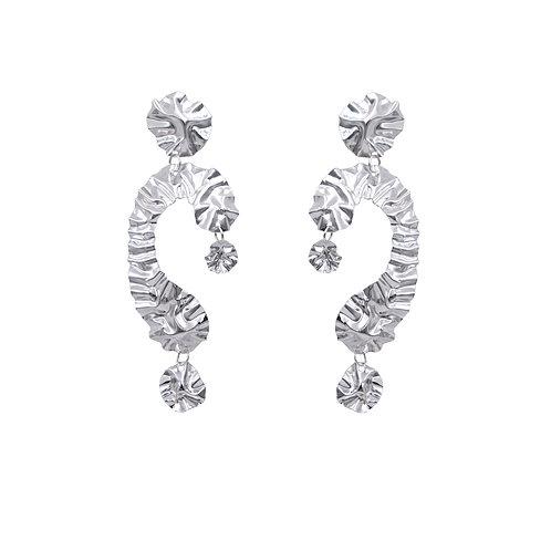 'DIVA' FOLD earrings NO.3