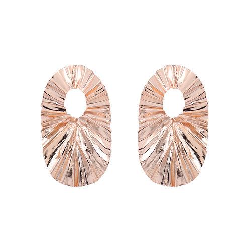 FOLD hoop earrings