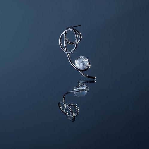 'Arctic Ocean' Earring