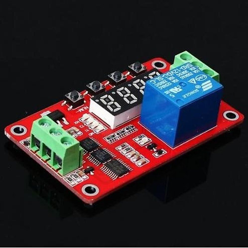 12V Relay Module Cycle Timer Module Self-locking PLC Delay FRM01 Multifunction