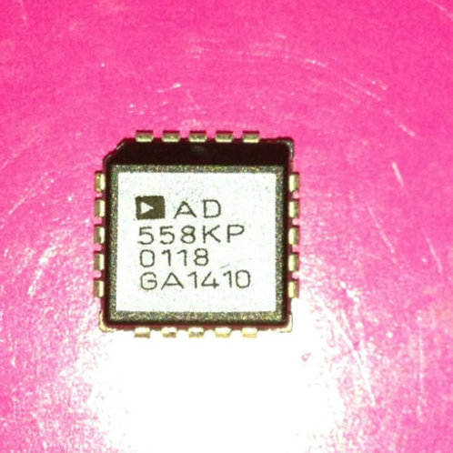 AD558KP - Voltage-output 8-bit digital-to-analog converter - PLCC20