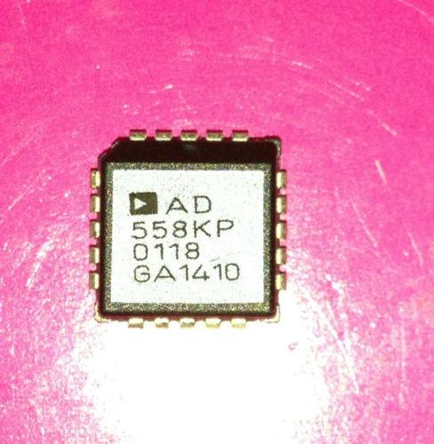 AD558KP - Voltage-output 8-bit digital-to-analog converter - PLCC20