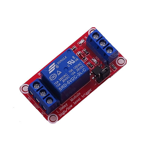 One 1 Channel 5V Relay Module Board with Optocoupler Support High & Low Level(It