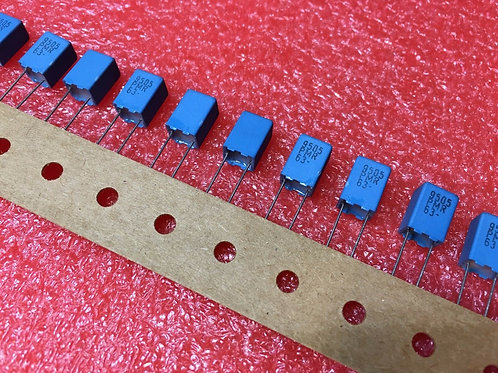 10PCs Film Capacitor 90.9nf 90n9 90900pf 0.09uf 90n9J 9092J 63V 5% Cap ( 91nf )