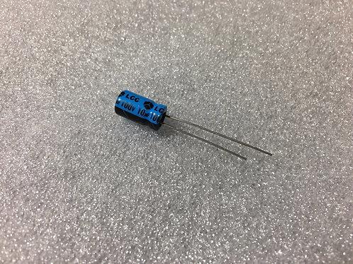 25 PCS CAP 100V 10UF 10MF CAPACITOR (REPLACING FOR 80V 63V 50V 35V 25V 16V 10V )