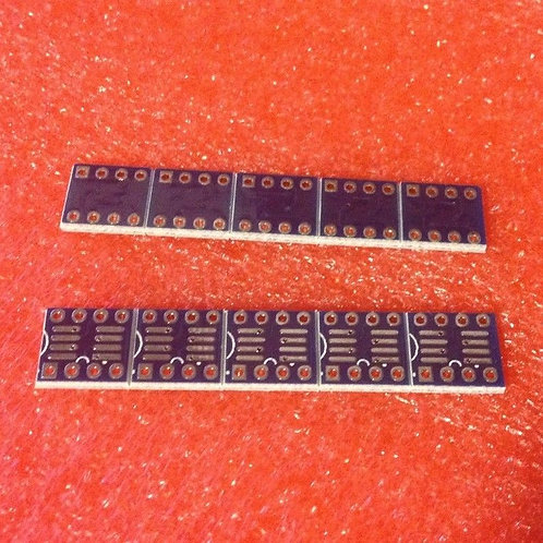 10 PCS SOP8 SO8 SOIC8 TO DIP8 Interposer board pcb Board Adapter Plate
