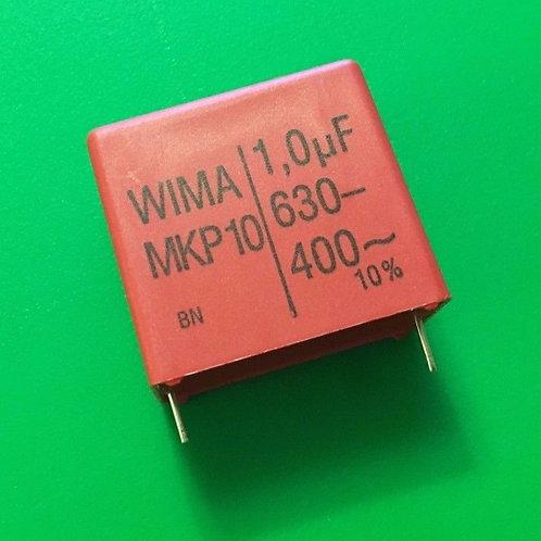 1 PCs CAPACITOR 1UF 630V DC 400V AC FILM CAP ORIGINAL OEM