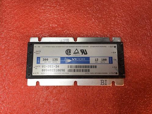 VI-261-34 200V-400V DC-DC CONVERTER 300V Isolated Power Transfer 12V 100W 8A