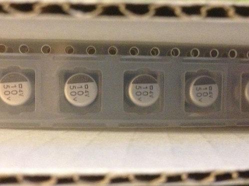 25 PCS NIPPON 50V 10uF 20% 6.3X5.5mm 105°C SMD SMT