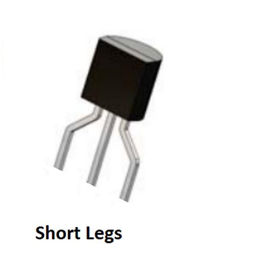 10 PCS UA78L05ACLP 78L05ACLP  UA78L05AC 78L05AC TO-92-3 (short Pins) original