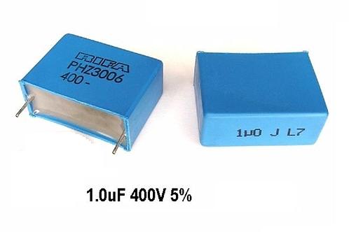 1 PCs Film Capacitor 400V 1uF 105 CAP