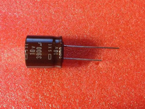 10 PCS NIPPON 3900uF 3900MF 10V AL CAPACITOR Cap 18X20mm (REPLACING FOR 6.3V )