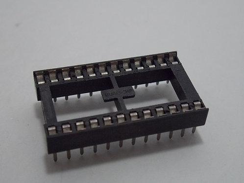 17 PCs EMC 24 PIN IC SOCKET FOR DIP-24 24-DIP DIP24