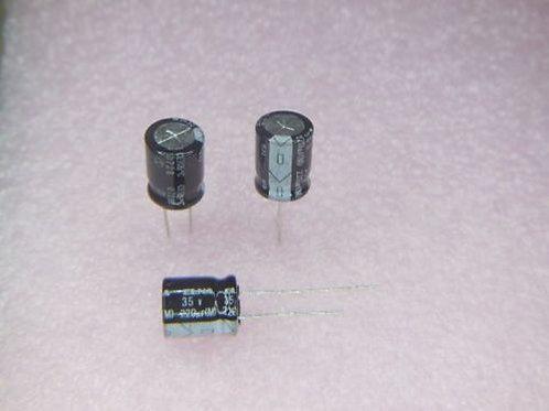 10 PCS ELNA Cap AL 220uF 220MF 35V 105° (REPLACEMENT OF 25V 16V 10V 6.3V )