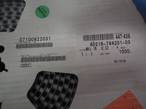 25 PCS NIPPON Aluminum Capacitors SMD 22uF 22MF 16V (REPLACING FOR 10V 6.3V 4V )