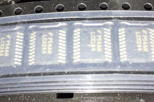 5 PCs 74LCX244MTCX 74LCX244 LCX244 Buffer Non-Inverting, 2V to 3.6V TSSOP-20