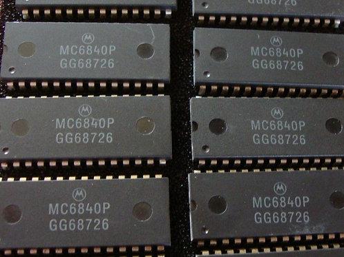 Motorola MC6840P - Programmable timer module - DIP28