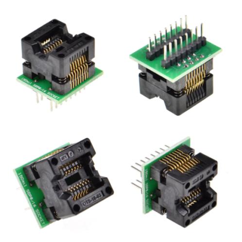 1 PCs SOIC16 SOIC 16 SOP16 TO DIP16 Programmer Adapter Socket Body Width 3.8MM